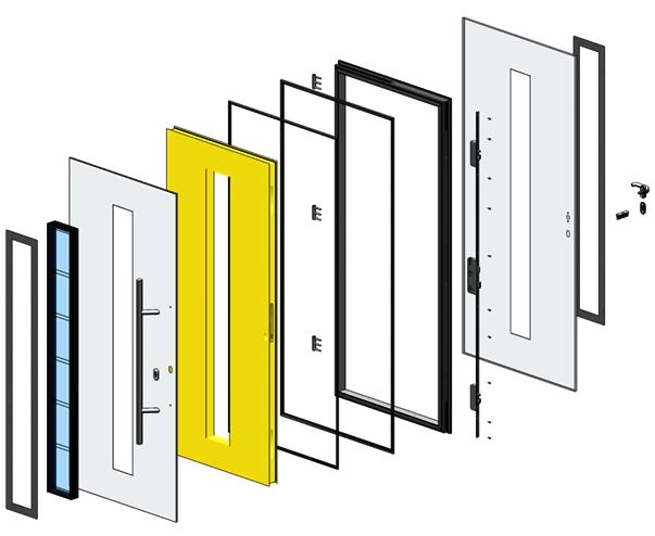входные двери с повышенной теплоизоляцией в коттеджи